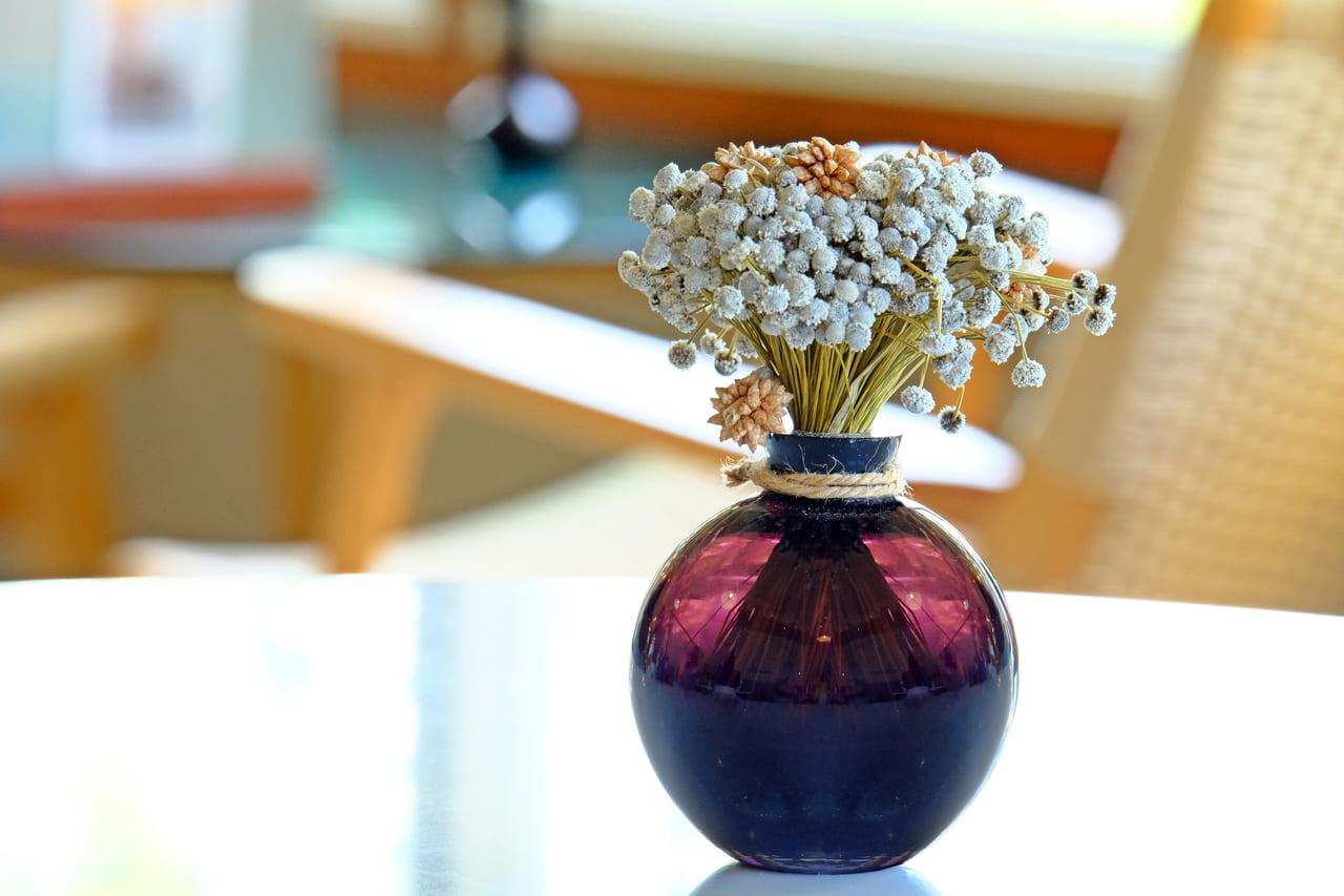 ドライフラワー 花瓶